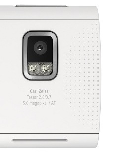 Fotocamera Nokia X6