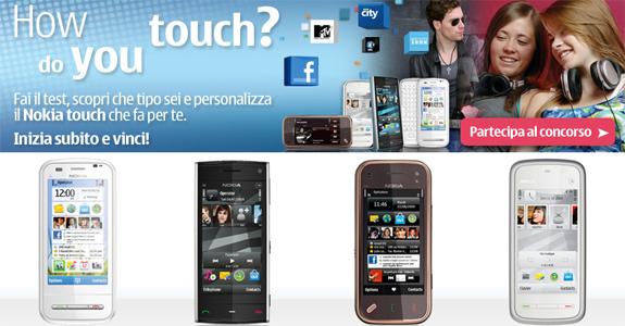 How do you touch? Il nuovo concorso di Nokia
