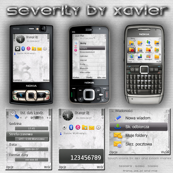 Severity by Xavier