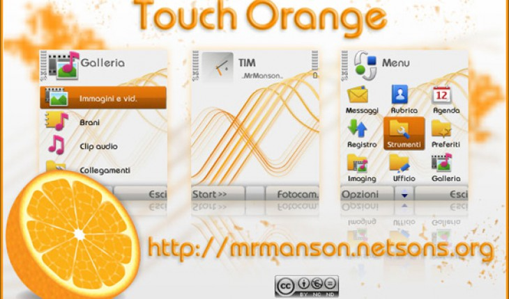Touch Orange by MrM@nson