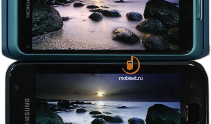 Nokia Clear Black Display vs Samsung Super Amoled