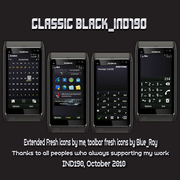 Classic Black by IND190