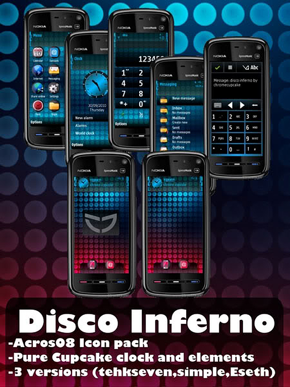 Disco Inferno by Cupcake