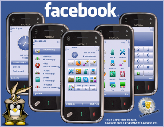 Facebook theme by babi