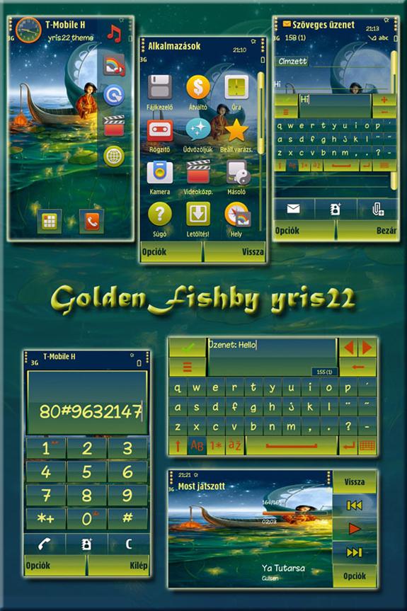 Golden Fish by yris22