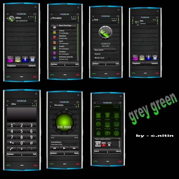 Grey Green By c.nitin