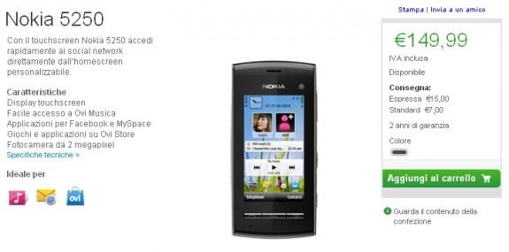 Nokia 5252 su Online Shop