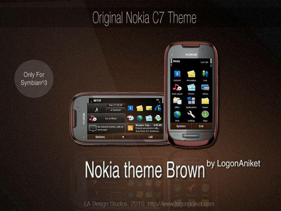 Nokia Brown by LA