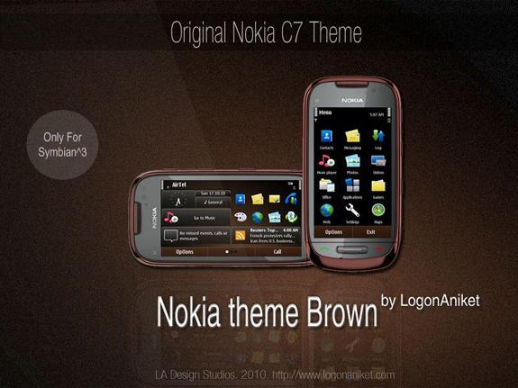 Nokia Brown by LA
