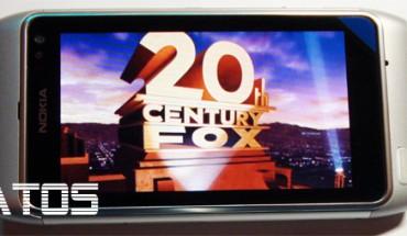 Nokia N8, film in riproduzione