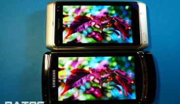 Nokia N8 vs Samsung Omnia HD I8910