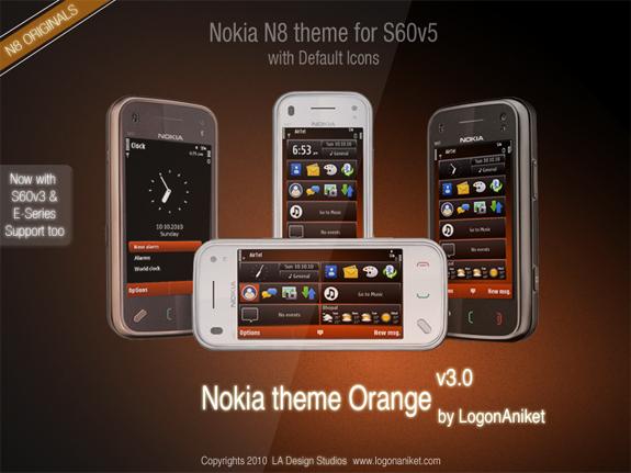 Nokia Orange v3 by LA