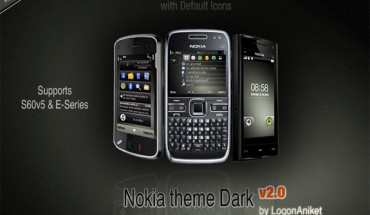 Nokia theme Dark v2 by LogonAniket