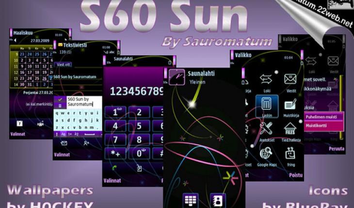S60 Sun by Sauromatum