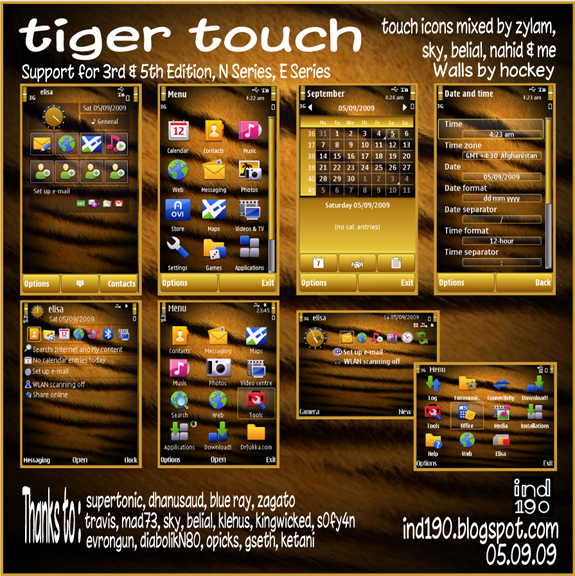 Tiger Touch by IND190