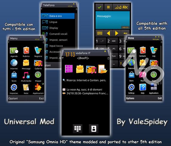 Universal Mod By Valespidey