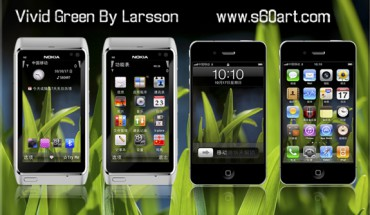 Vivid Green by Larsson