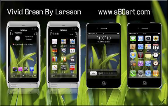 Vivid Green by Larsson