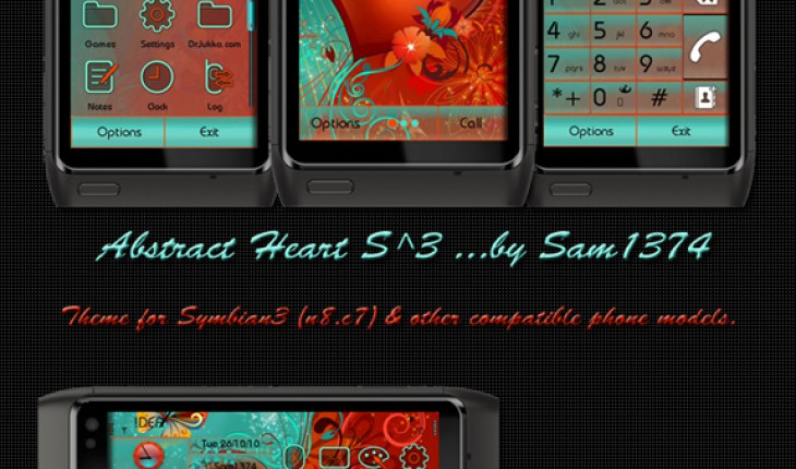 Abstract Heart by Sam1374