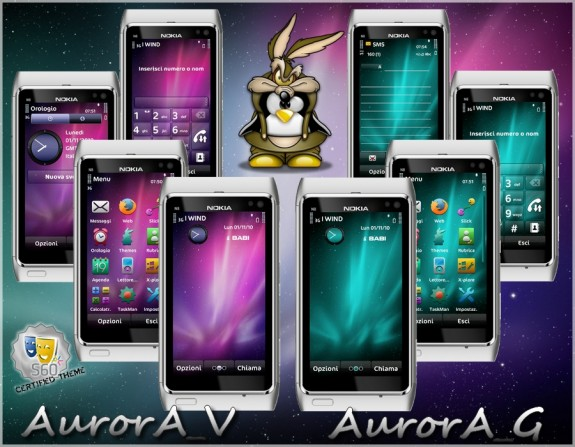 Aurora theme by babi