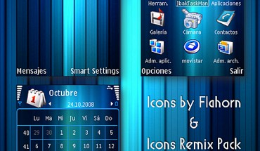 Blue Color Icons Remix by AJ23
