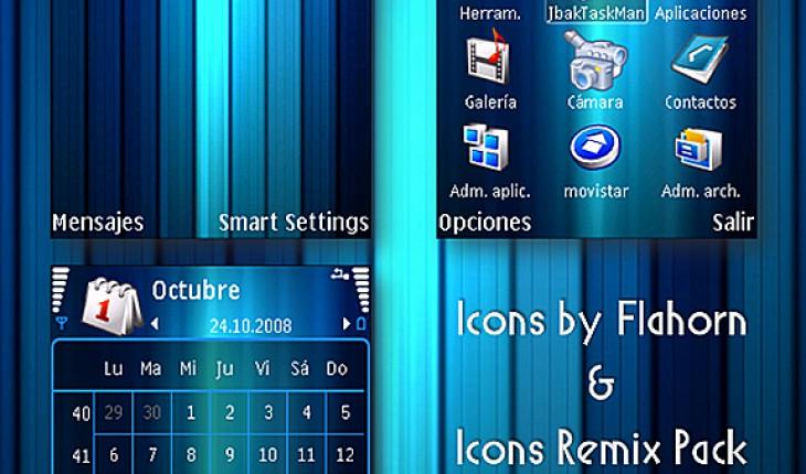 Blue Color Icons Remix by AJ23