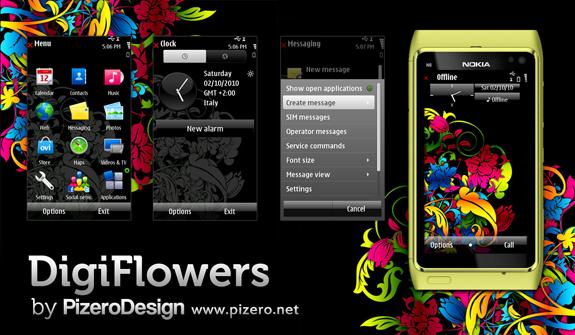 Digiflowers by Pizero