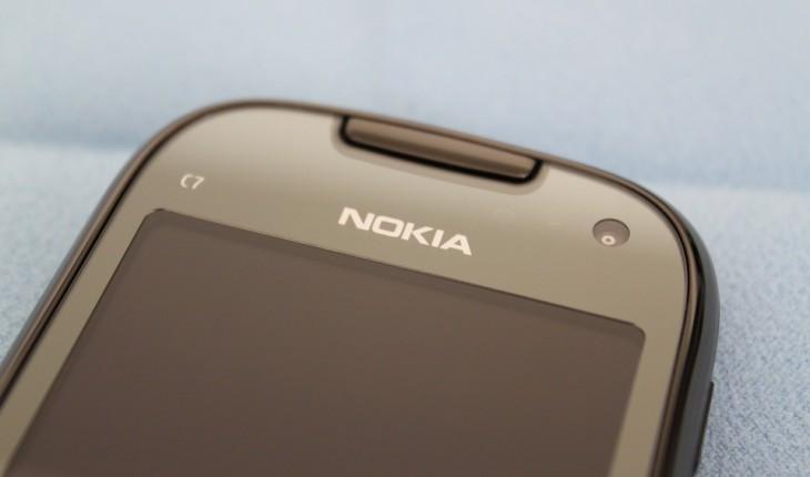 Nokia C7-00 _ Parte alta