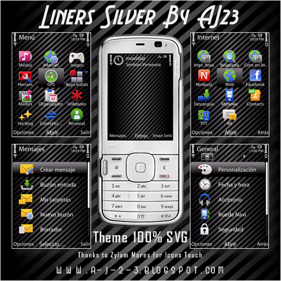 Liners Silver by AJ23