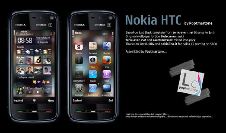 Nokia HTC by Poptmartone
