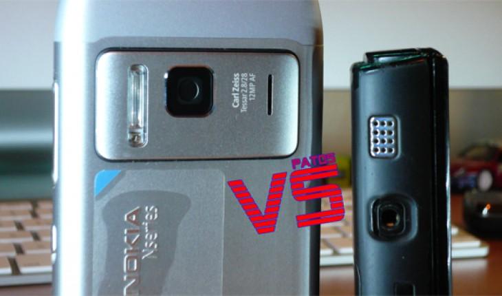 Nokia N8 vs Nokia N95 8GB, speakers test