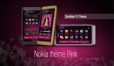 Nokia theme Pink by LogonAniket