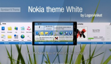 Nokia theme White by LogonAniket