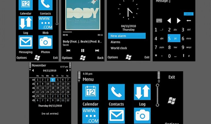 Windows Phone 7 (beta) by Mayank