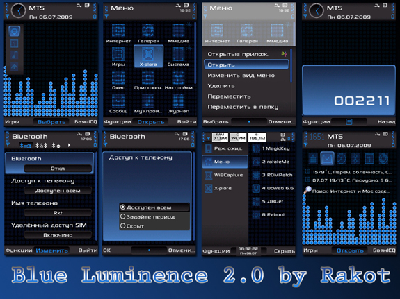 Blue Luminence 2.0 by Rakot