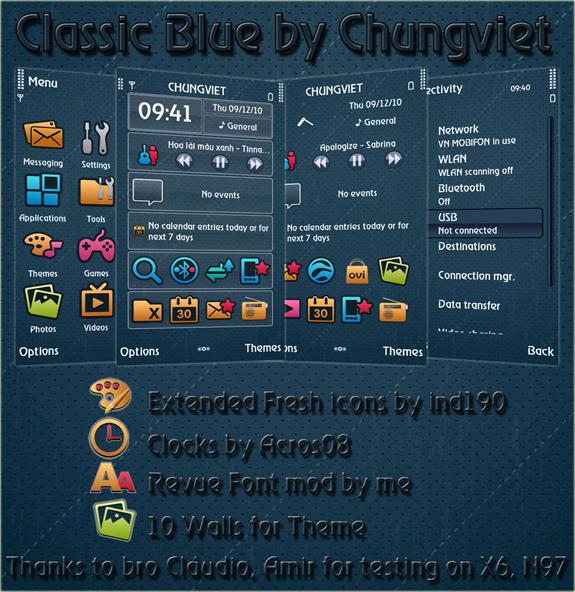 Classic Blue by Chungviet