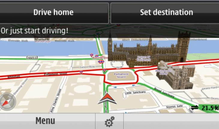 Ovi Maps 3.06 Beta