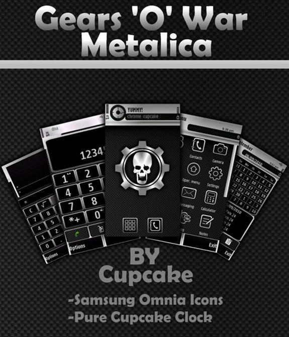Gears 'O' War Metalica by Cupcake