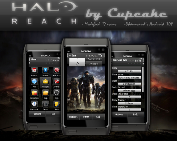 Halo Reach by Cupcake
