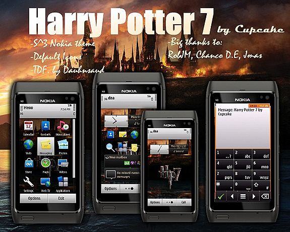 Harry Potter 7 by Cupcake