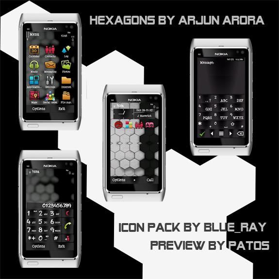 Hexagons by Arjun Arora