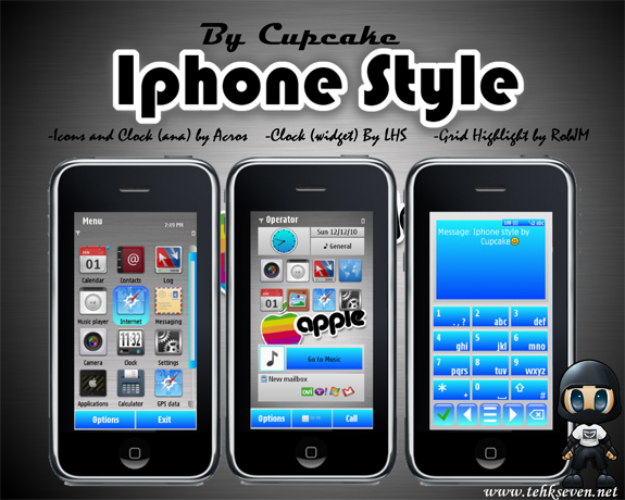 Iphone Style by Cupcake