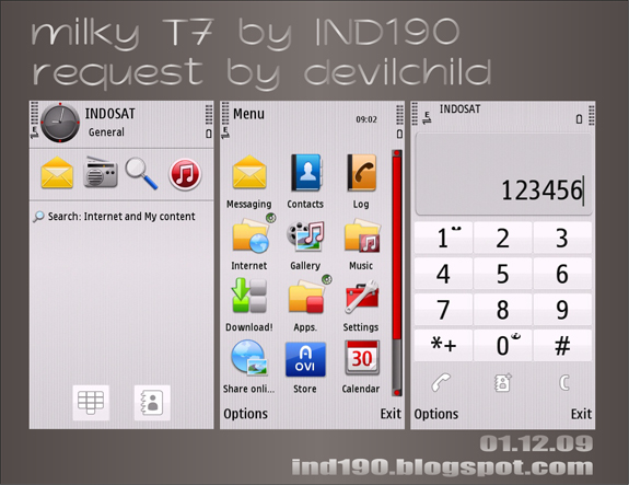 Milky T7 by IND190