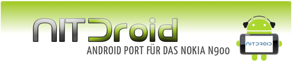 NITDroid, il porting di Android sul Nokia N900