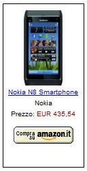 Nokia N8 su amazon.it