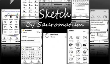 Sketch by Sauromatum