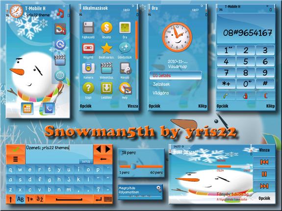 Snowman by Yris22