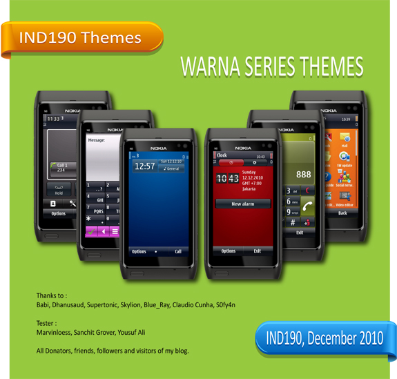 WARNA Series Themes by IND190