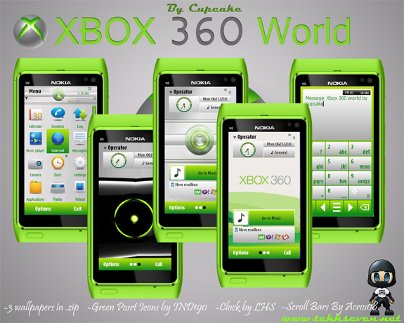 XBOX 360 World by Cupcake