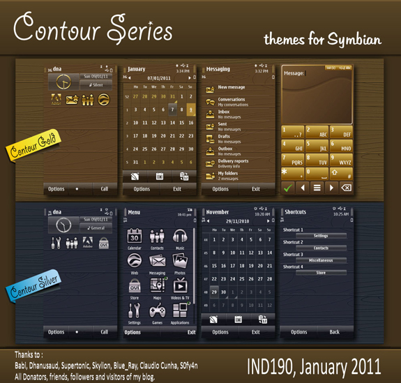 Contour Series by IND190